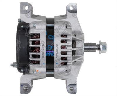 producto apymsa cara 2 - ALTERNADOR AUTOMOTRIZ DELCO 24SI PAD CW 24V 70A REMY 8600016