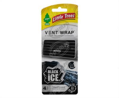 producto apymsa - AROMATIZANTE AUTOMOTRIZ BLACK ICE VENT WRAP LITTLE TREE CTK-52231-24