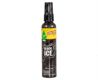 producto apymsa - AROMATIZANTE AUTOMOTRIZ BLACK ICE LITTLE TREE UPS-06355