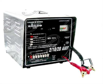 producto apymsa - CARGADOR BATERIA 6V - 12V - 24V LENTA 6 BATERIAS 6-72 VCD 2-20A 0-20A DIRCO OVERSTOCK GB/1012-L
