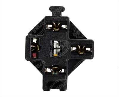 producto apymsa cara 2 - CONECTOR RELEVADOR UNIVERSAL 4-5TERMINALES UNIVERSAL REFORZADO NACIONAL S-654