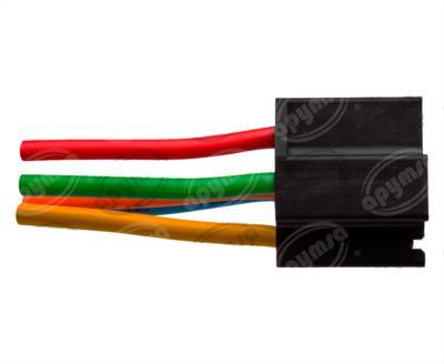 producto apymsa cara 4 - CONECTOR RELEVADOR UNIVERSAL 4-5TERMINALES REFORZADO NACIONAL S-654