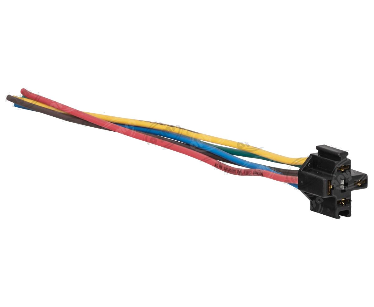 producto apymsa - CONECTOR RELEVADOR UNIVERSAL 4-5TERMINALES REFORZADO NACIONAL S-654