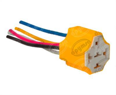 producto apymsa - CONECTOR RELEVADOR UNIVERSAL 4-5TERMINALES CERAMICA IMPORTADO S-654