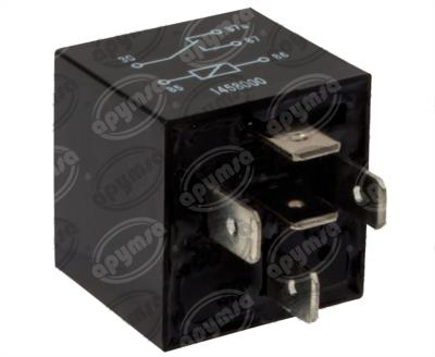 producto apymsa - RELEVADOR UNIVERSAL 12V 30A - 40A 5TERMINALES FORD CHRYSLER CHEVROLET JEEP WEISCHLER RY-30