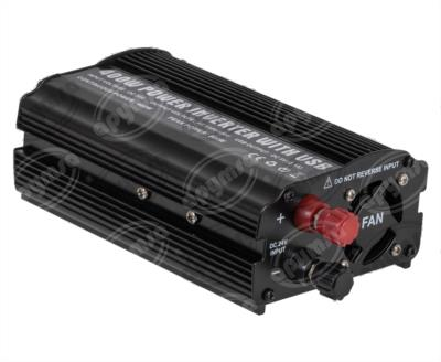 producto apymsa - CONVERTIDOR VOLTAJE ELECTRONICO 24V A 110V 400W CON ENTRADA USB IMPORTADO CONV24400