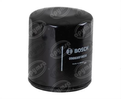producto apymsa - FILTRO ACEITE DODGE SHADOW PHANTOM CHRYSLER VOYAGER TIPO K BOSCH 0 986 MF0 600
