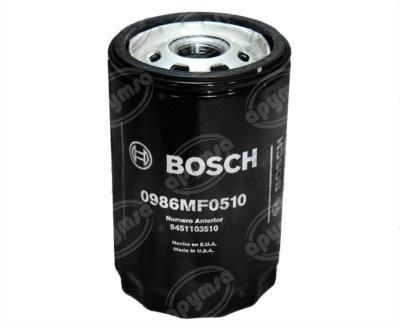 producto apymsa - FILTRO ACEITE DODGE RAM FORD COURIER ESCORT FIESTA FOCUS BOSCH 0 986 MF0 510