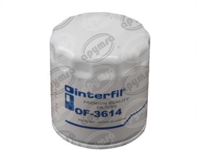 producto apymsa - FILTRO ACEITE CHRYSLER SHADOW 4CIL 2.5L 91-95 INTERFIL OF-3614