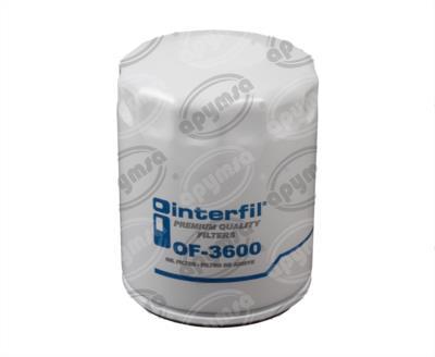 producto apymsa - FILTRO ACEITE FORD AEROSTAR V6 3.0L 86-97 INTERFIL OF-3600
