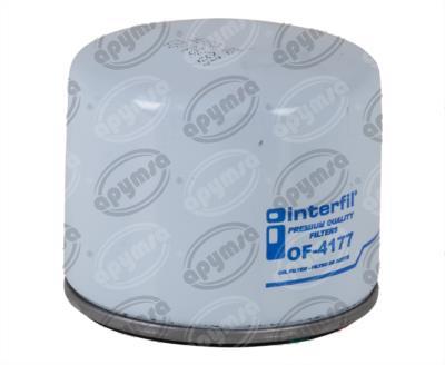 producto apymsa - FILTRO ACEITE NISSAN APRIO 4CIL 1.6L 2010 INTERFIL OF-4177