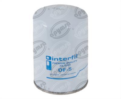 producto apymsa - FILTRO ACEITE CHEVROLET C&K 1500 2500 V8 5.7L 96-00 INTERFIL OF-5
