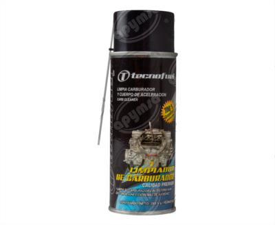 producto apymsa cara 2 - LIMPIADOR CARBURADOR 283.5G Y CUERPO DE ACELERACION EN AEROSOL TECNOFUEL-QUIMICOS CLEAN