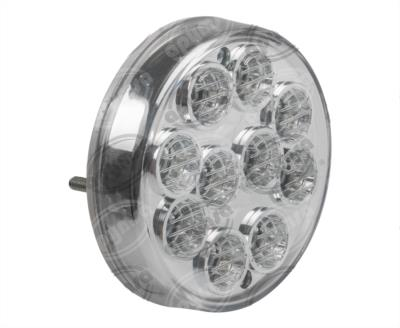 producto apymsa - PLAFON LEDS AMARILLO Y ROJO TRASERO MICA TRANSPARENTE 10 LEDS 24V IRIZAR I6 SUPERIOR HDLT PBC16