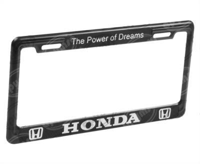 producto apymsa - PORTA PLACA AUTOMOTRIZ HONDA ( THE POWER OF DREAMS ) JGO EXTREME A104-E-NT