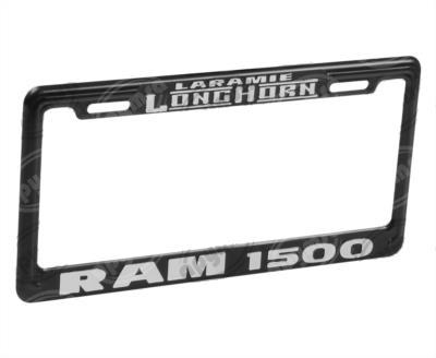 producto apymsa - PORTA PLACA AUTOMOTRIZ RAM 1500 ( LARAMIE LONGHORN ) JGO EXTREME A149-E-NT