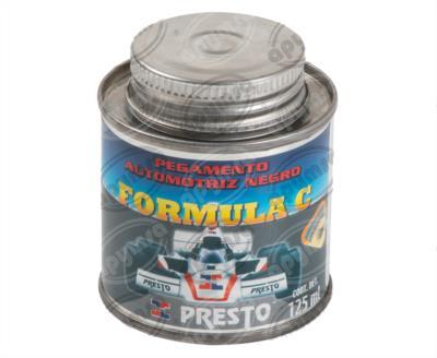 """producto apymsa - PEGAMENTO AUTOMOTRIZ NEGRO FORMULA """"C"""" BOTE CON APLICADOR 125ML PRESTO 35"""