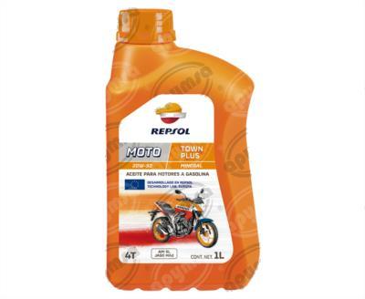 producto apymsa - LUBRICANTE ACEITE MOTO TOWN PLUS 4T 20W50 SL CP-1 REPSOL RX201Q51