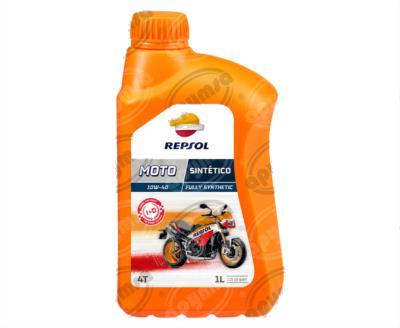 producto apymsa - LUBRICANTE ACEITE MOTO SINTETICO 4T 10W-40 CP-1  REPSOL RP163N51