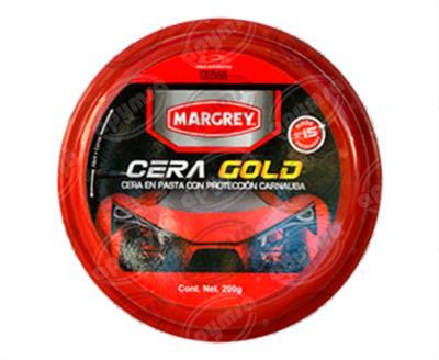 producto apymsa - CERA AUTOMOTRIZ 200G EN PASTA GOLD CON CARNUBA 200 GRAMOS MARGREY 0414-01-219
