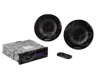 producto apymsa - AUTOESTEREO AUTOMOTRIZ MP3, AUX, USB CON BOCINAS,  CONTROL REMOTO KENWOOD 6203005