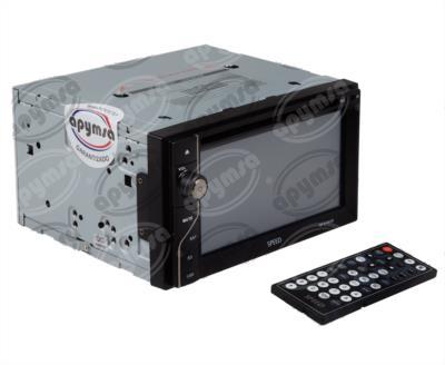 producto apymsa - AUTOESTEREO AUTOMOTRIZ CD, MP3, USB, AM/FM AUX, BLUETOOTH, CONTROL REMOTO HF SP-6100UB